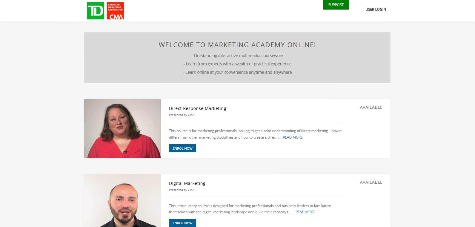 TD-CMA_Courses